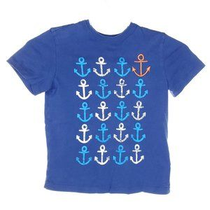 🌈5/$20🌈JOE FRESH Boys T-Shirt Anchors Size 5